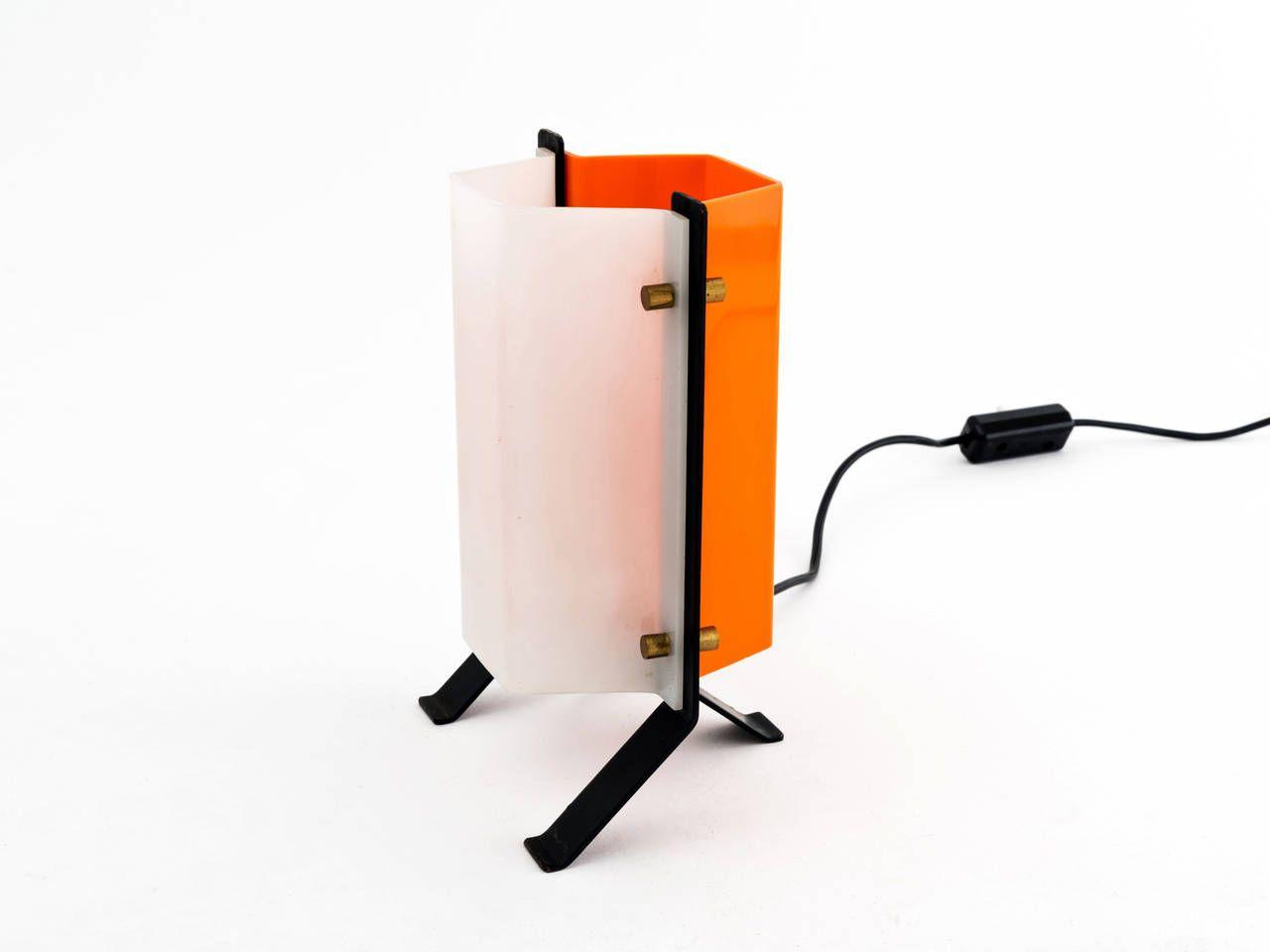 1960s Italian Modern Desk Lamp Attributed to Stilux 4