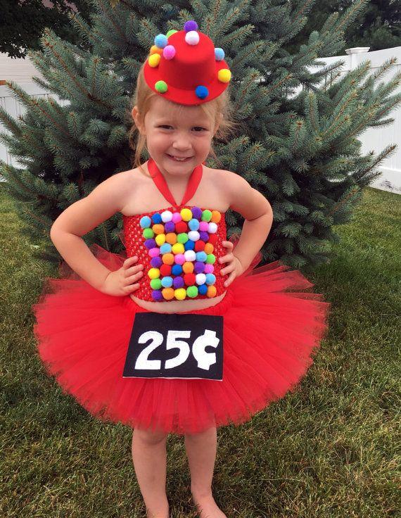 Bubble Gum Machine Halloween Costume This Diy Bubblegum Machine