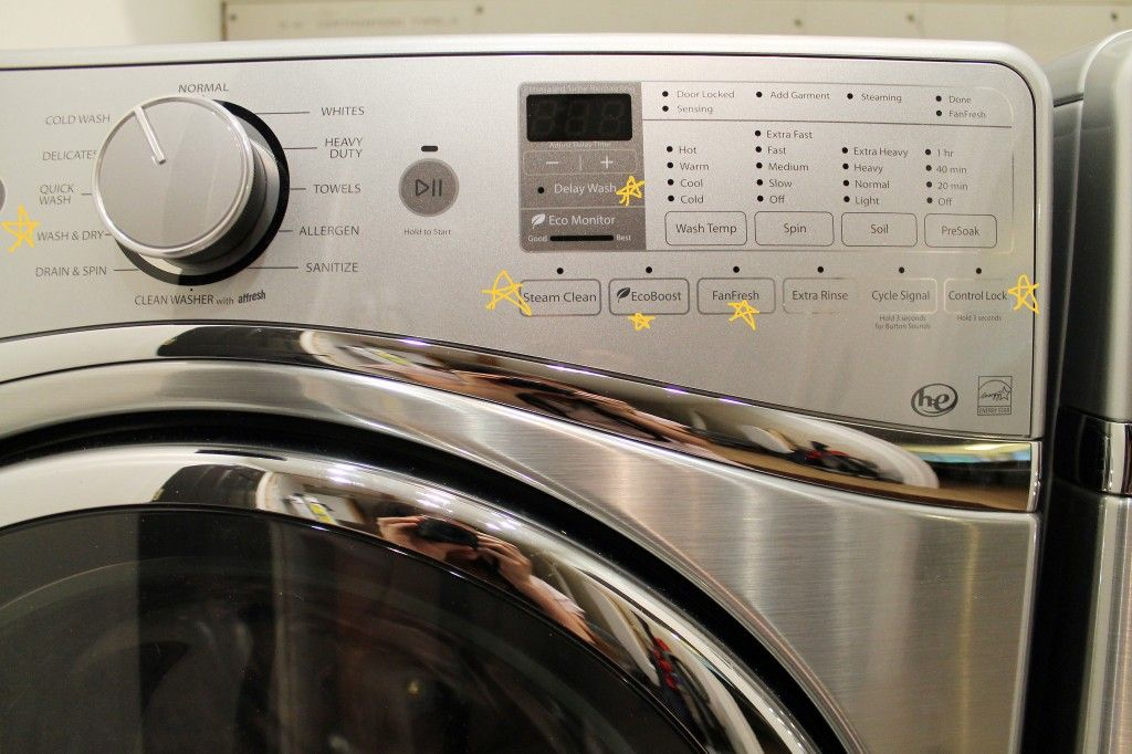 Our new whirlpool duets in diamond steel and all the