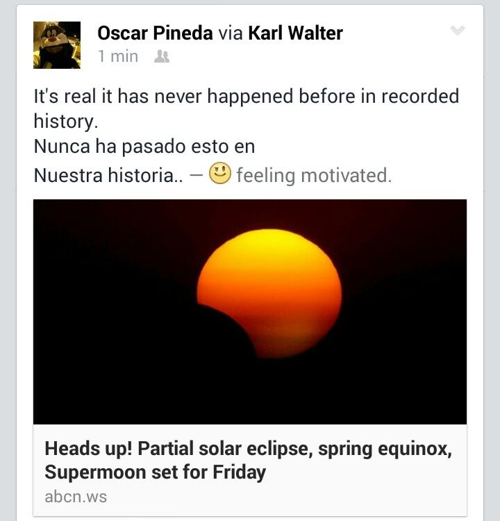 El Reino De Mil Anos The Kingdom Of One Thousand Years Spring Equinox Super Moon Heads Up