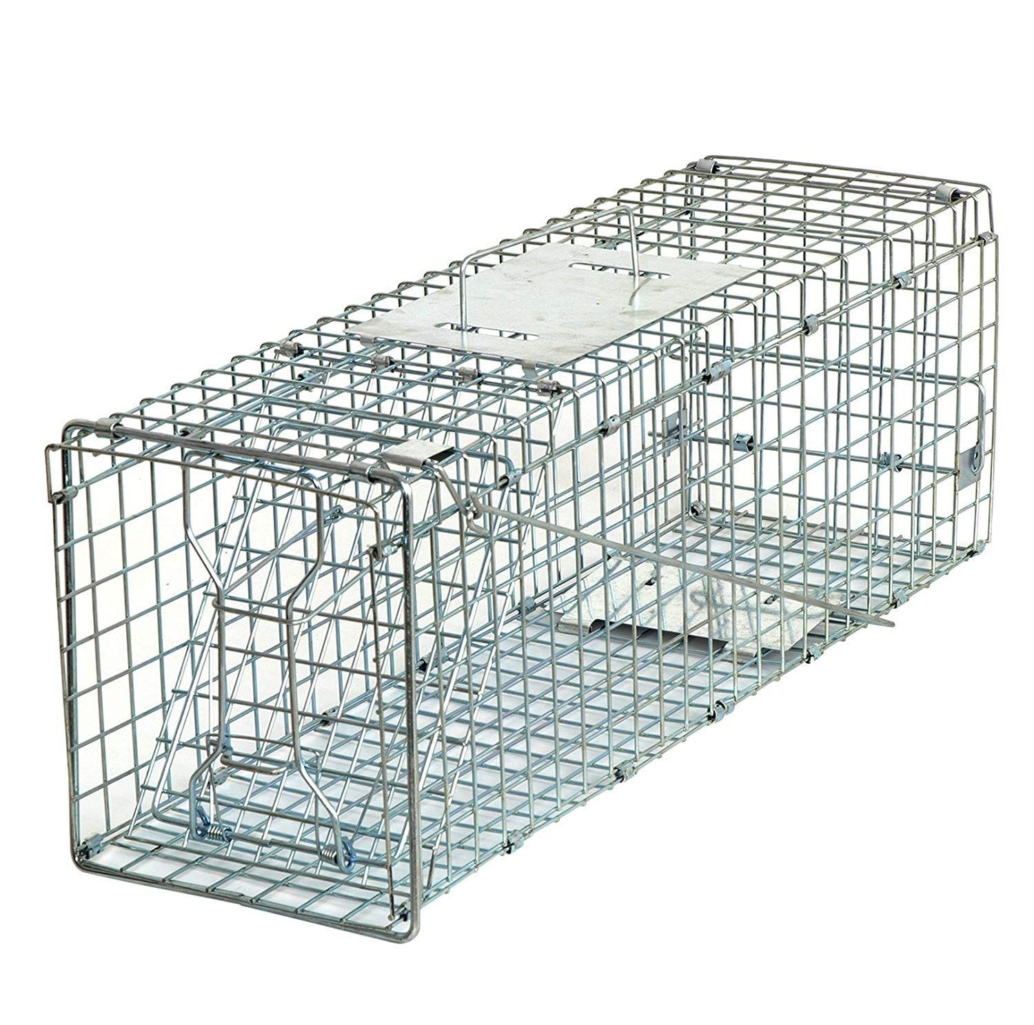 HomGarden 24'' Live Animal Trap Catch Release Humane