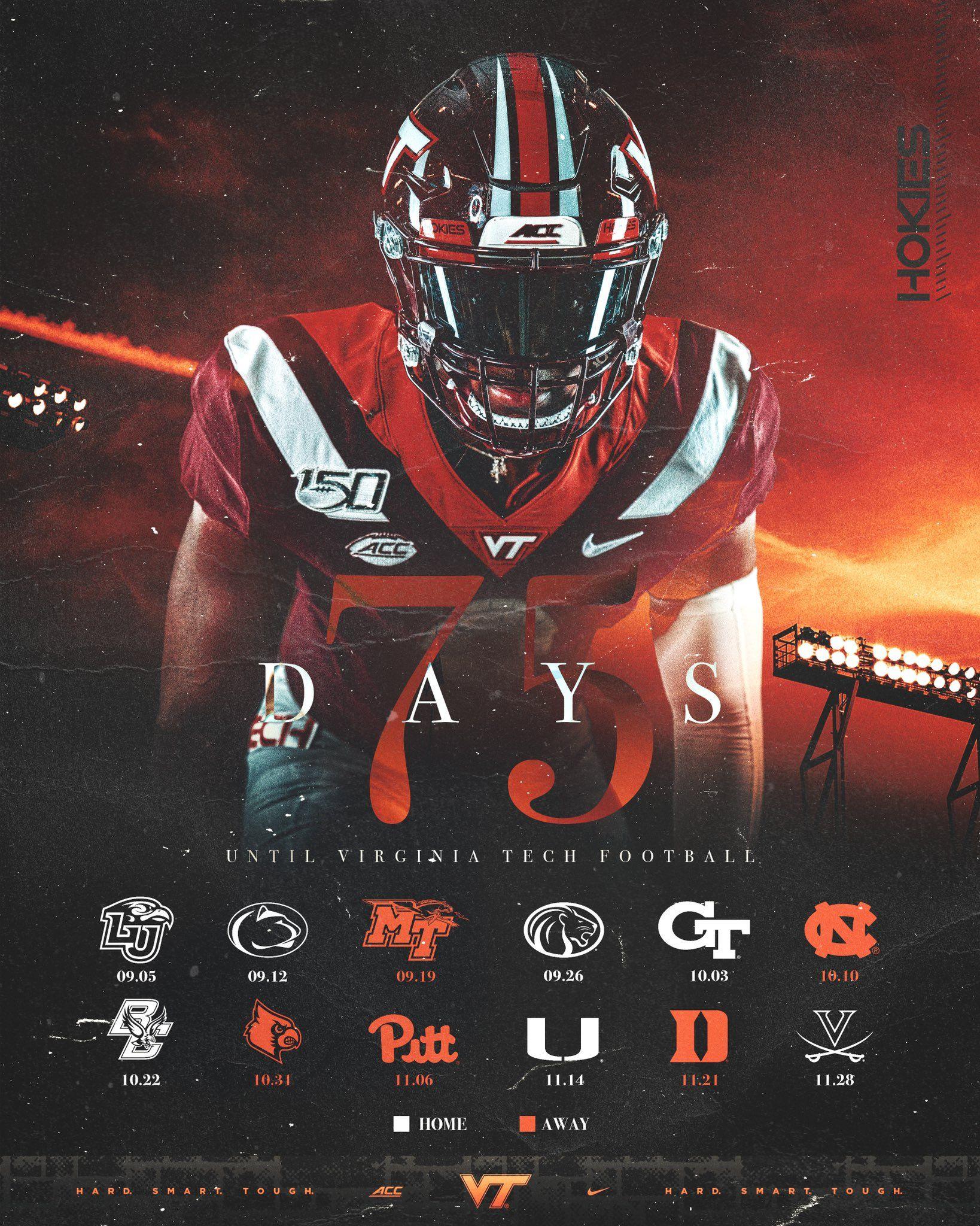 Virginia Tech Football Design Sports Design Virginia Tech Football