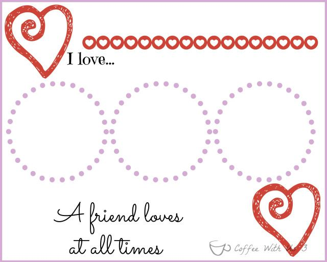 Valentines Placemats For Kids With Printable Valentines Printables Free Placemats Kids Valentines