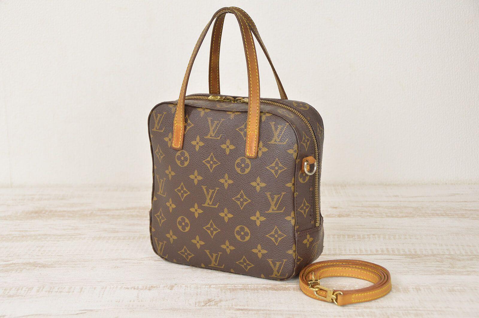 Louis Vuitton Monogram Spontini Shoulder Bag M47500
