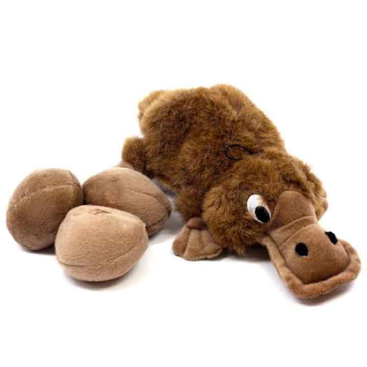 Plush Puppies Platypus Dog Puppy Toy Mercari Anyone Can Buy