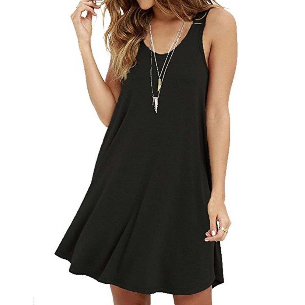Black loose flowy dress products