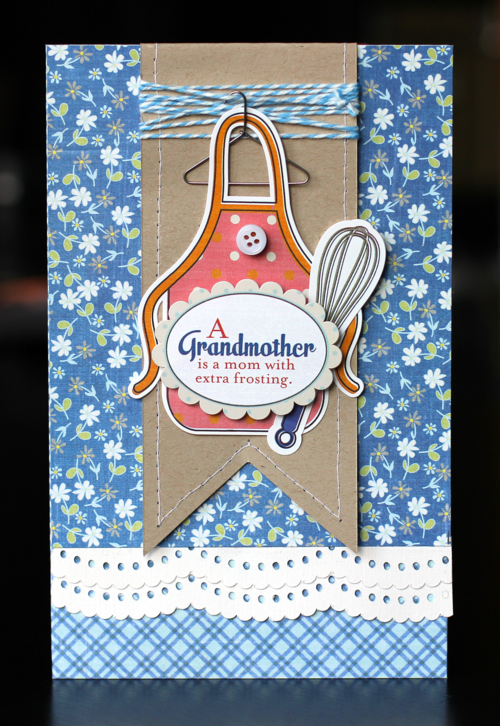 Cards A Grandmother Card Nancy Damiano Grandmothers Card Grandma Birthday Card Clothes Pin Cards