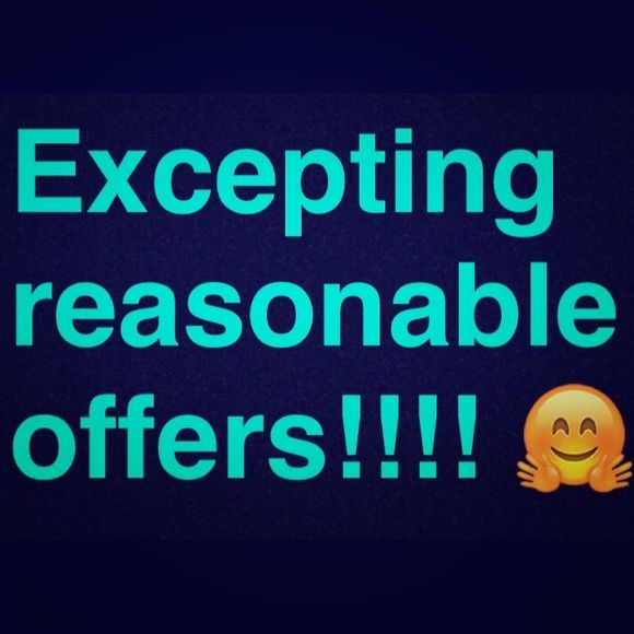 Make me an offer! Excepting all reasonable offers! Make me an offer! Everything Other