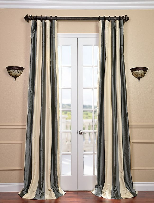 half price drapes nob hill silk stripe curtain home decor catalogs rh pinterest co kr