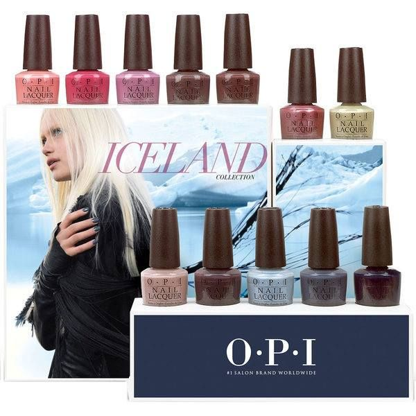 OPI Iceland Fall Winter 2017 Collection – Beauty Trends and Latest ...