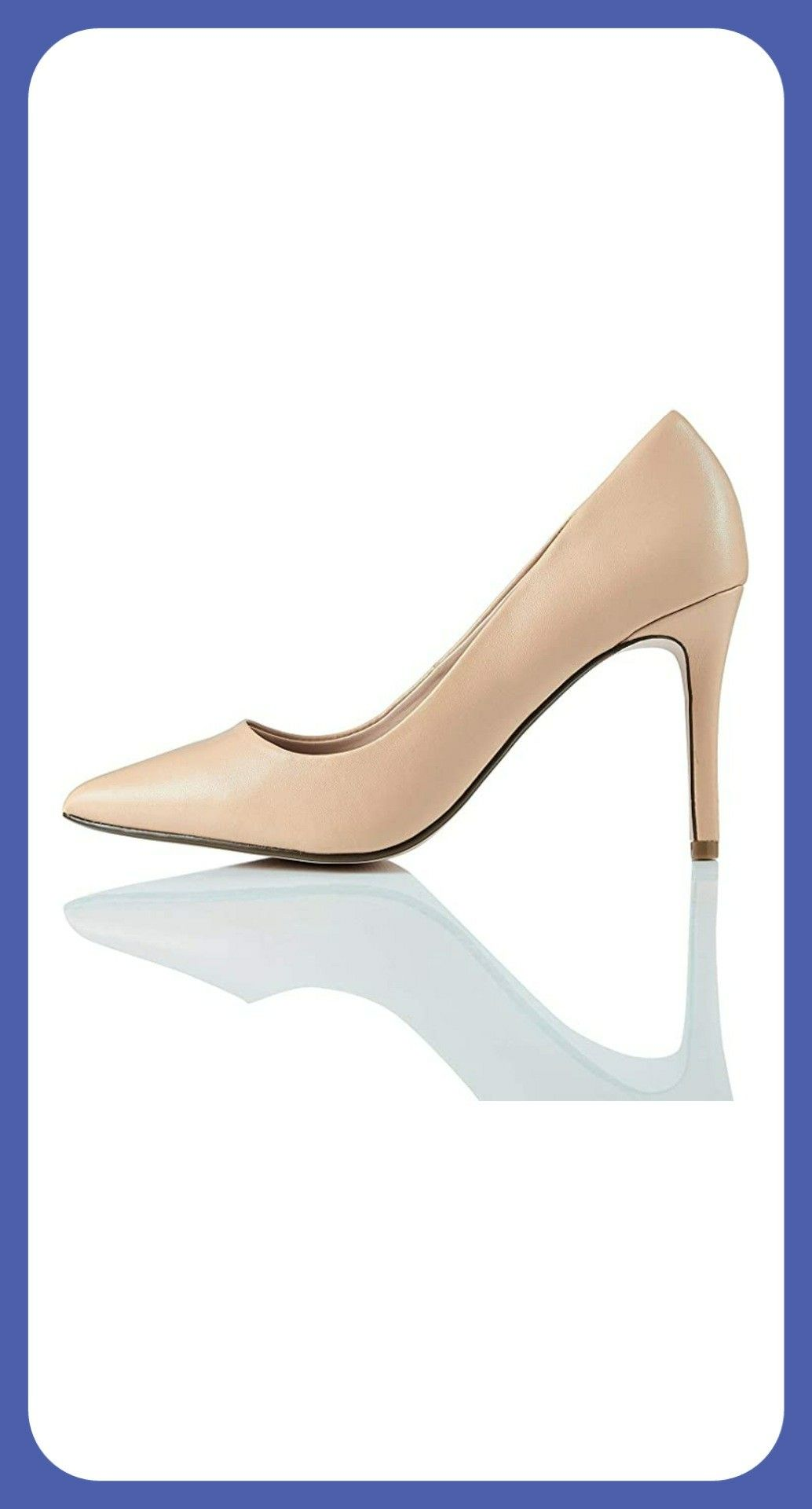 Amazon Brand Find Women S High Heel Leather Pumps In 2020 Womens High Heels Heels Black Sandals Heels