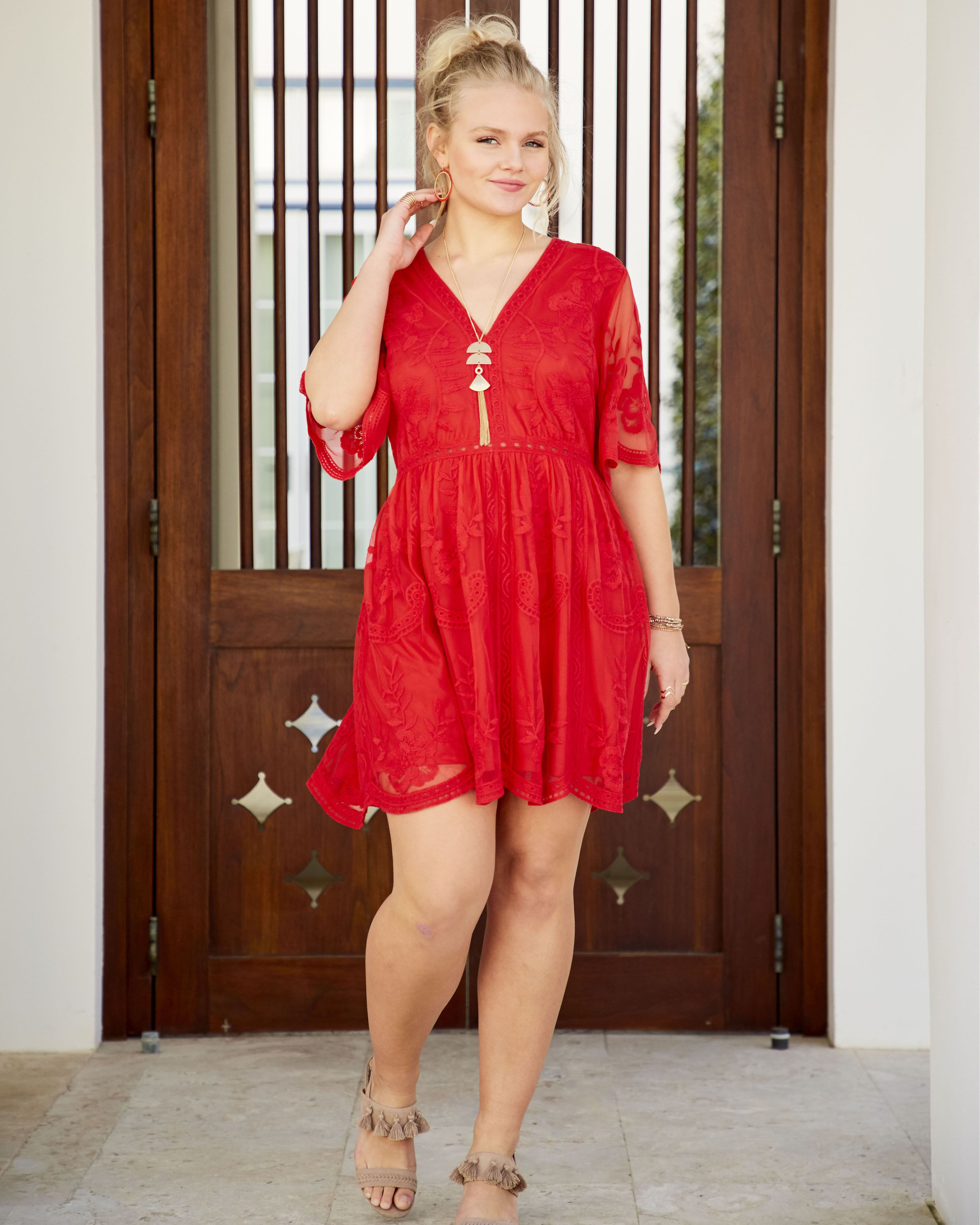 When It S Hot Out Wear Something Red And Sassy This Sefton Dress Is The Perfect Summer Red And Comes As A Maxi Dresses Womens Dresses Plus Size Maxi Dresses [ 4894 x 3915 Pixel ]