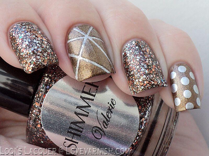 Pin By Shola Shoda On Nails Copper Nail Art Fancy Nails Brown Nail Art