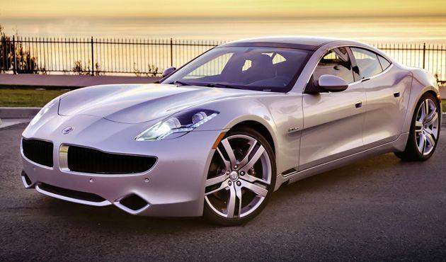 Fisker Karma Hybrid Car Electric Cars Luxury Cars