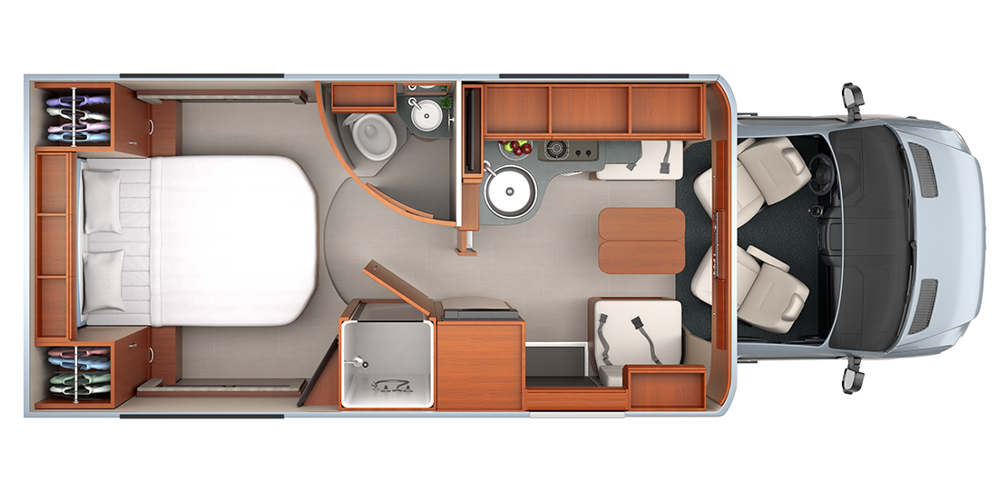 unity - floorplans | rv, van life and sprinter conversion