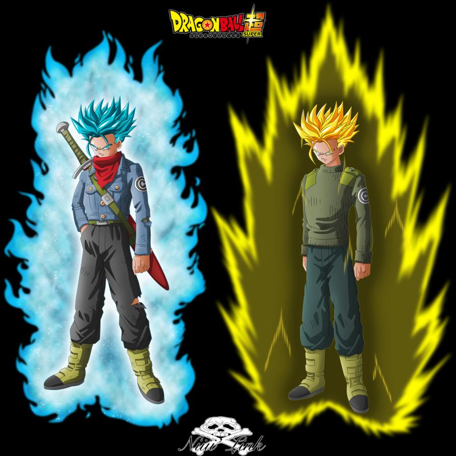 Dbs Mirai Trunks Ssgss By Niiii Link On Deviantart Anime Dragon Ball Super Dragon Ball Super Manga Dragon Ball Art
