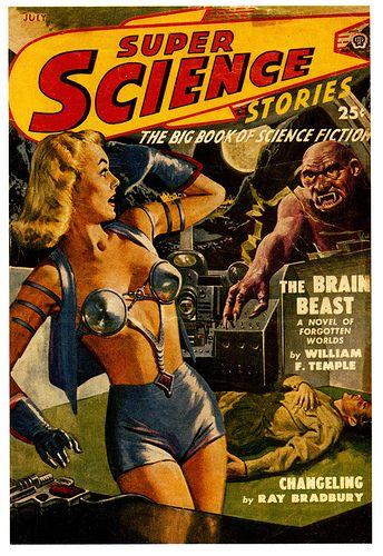 Sci Fi Brain : The brain beast sci fi and fiction