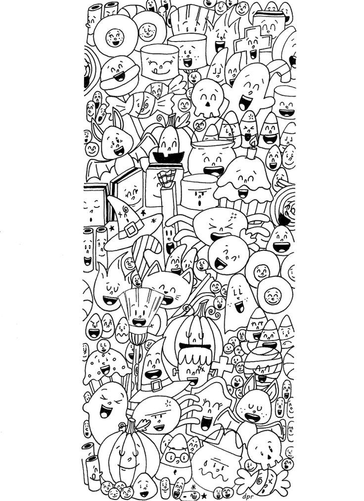 Coloriages d\'Halloween