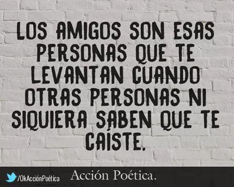 :) Los Amigos...