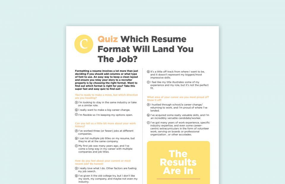 Every 30-Year-Old Should Make These Financial and Life Investments - resume quiz
