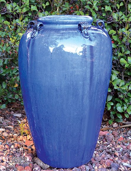 Pair Of Vietnamese Large Tall Cobalt Blue Costco Port Coquitlam 16000 Maple Ridge Bc Outdoor Planters Large Outdoor Planters Planters