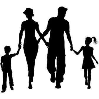 Wallpaper download eid - Free Vector Happy Family Shadow Background Http Www