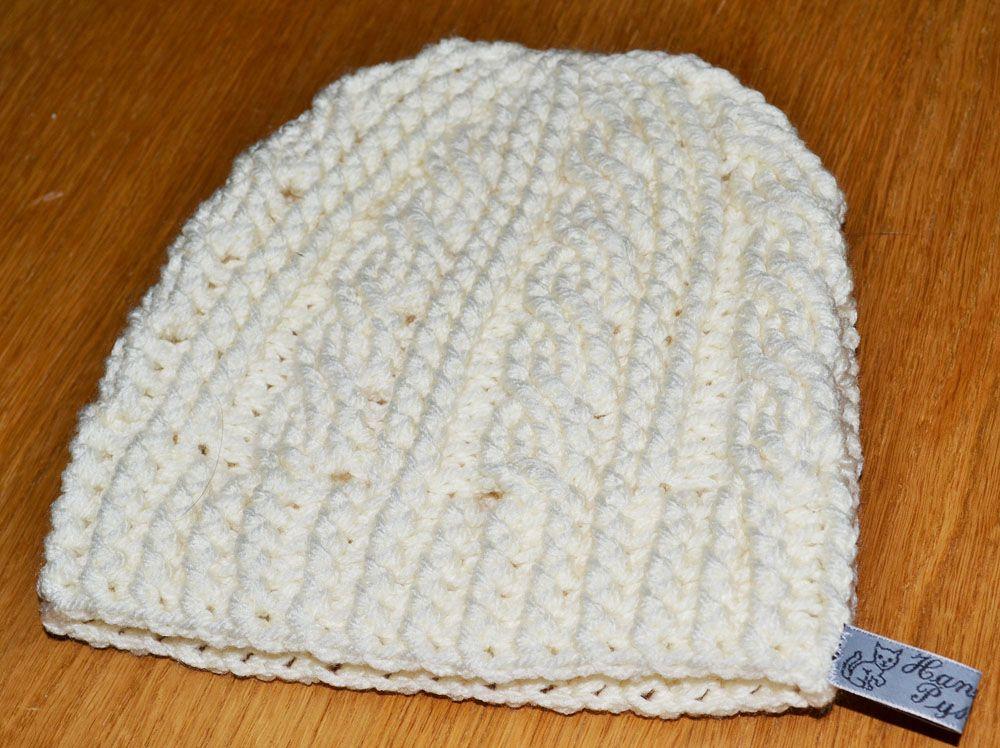 Gratis patrón: sombrero de ganchillo con trenzas | Knitting: Socks ...