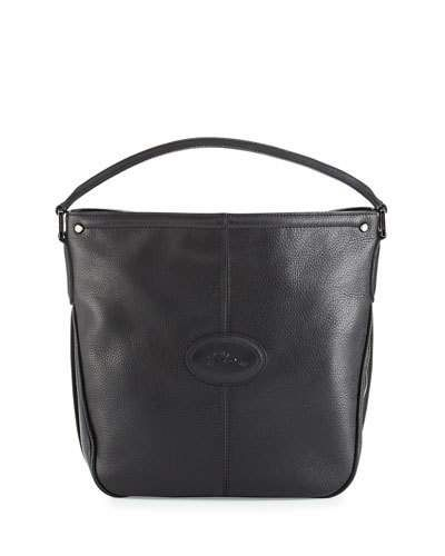 Hobo Longchamp Leather Bag Mystery Black En7qgWOna