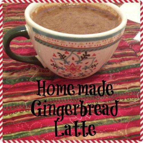 Healthy Homemade Gingerbread Latte #latte #gingerbread