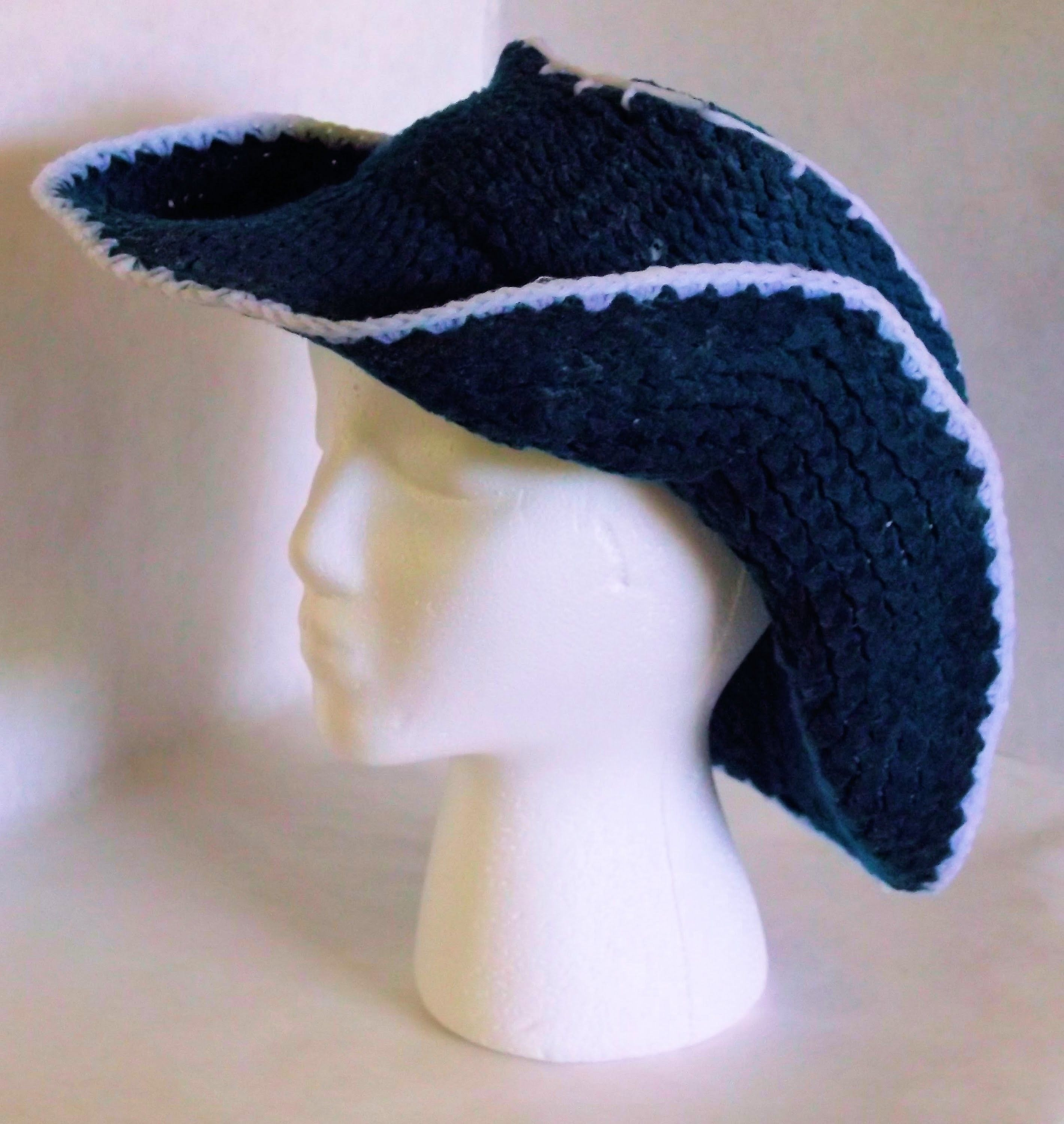How To Loom Knit a Cowboy Hat | Loom knitting, Knitting ...