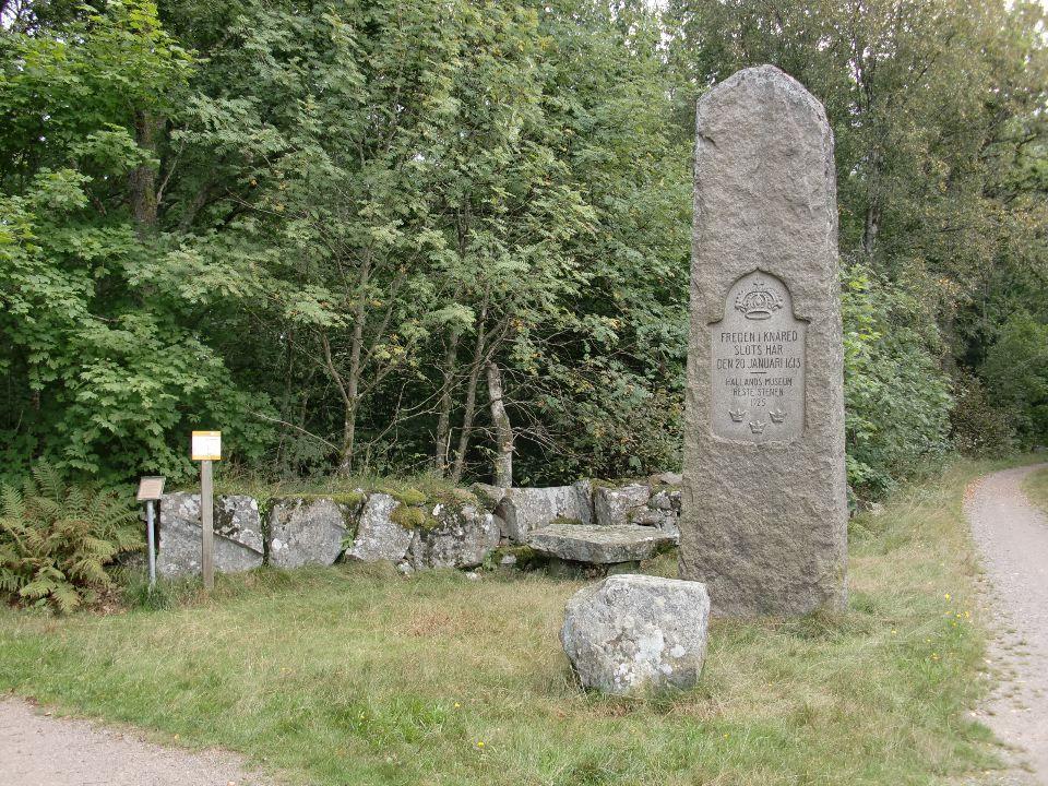 Knäreds sten, Sweden- Peace treaty signed here between Denmark and Sweden in my great grandmother's hometown