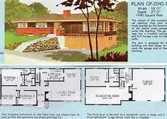 1960 Split Level House Plans Bing Images House Plans With Pictures Vintage House Plans Mid Century Modern House Plans