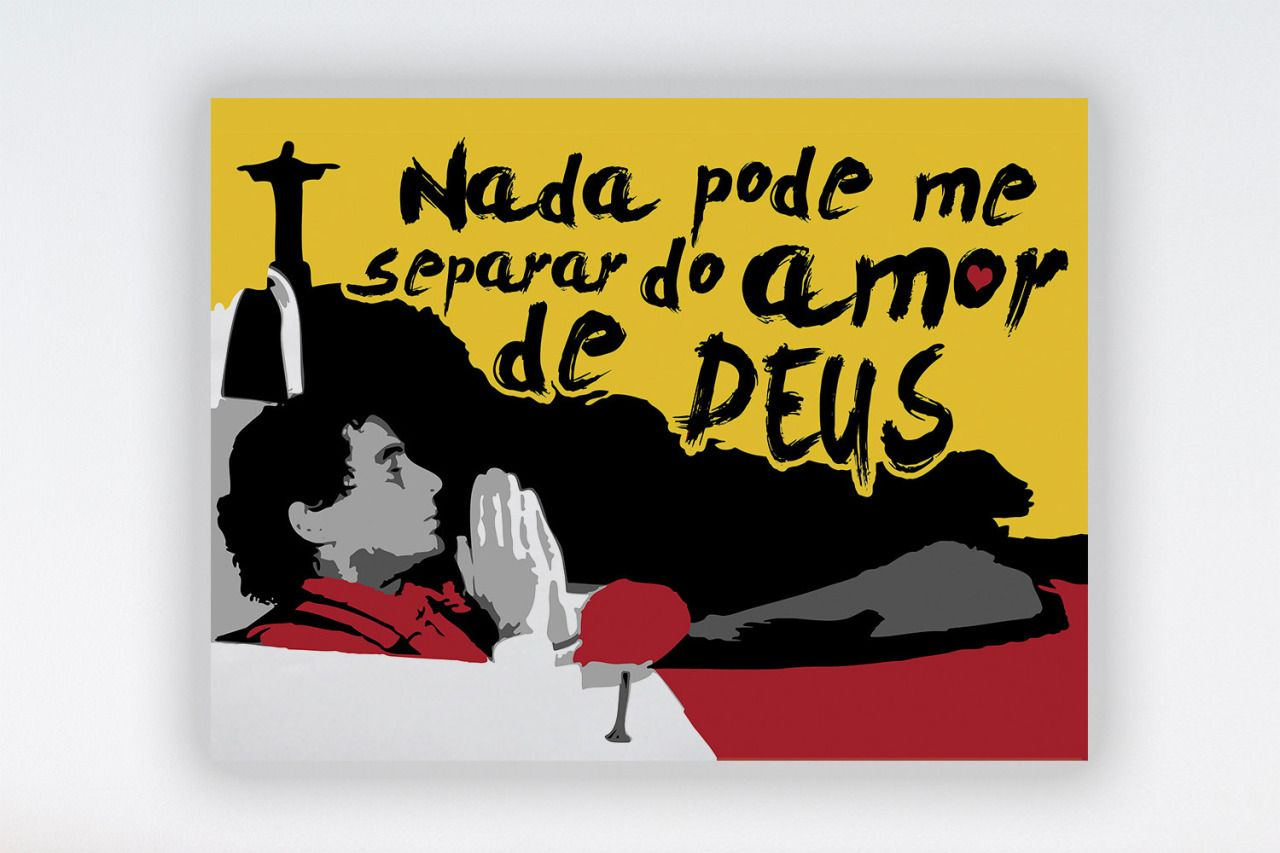 Ayrton Senna 24 x 18\