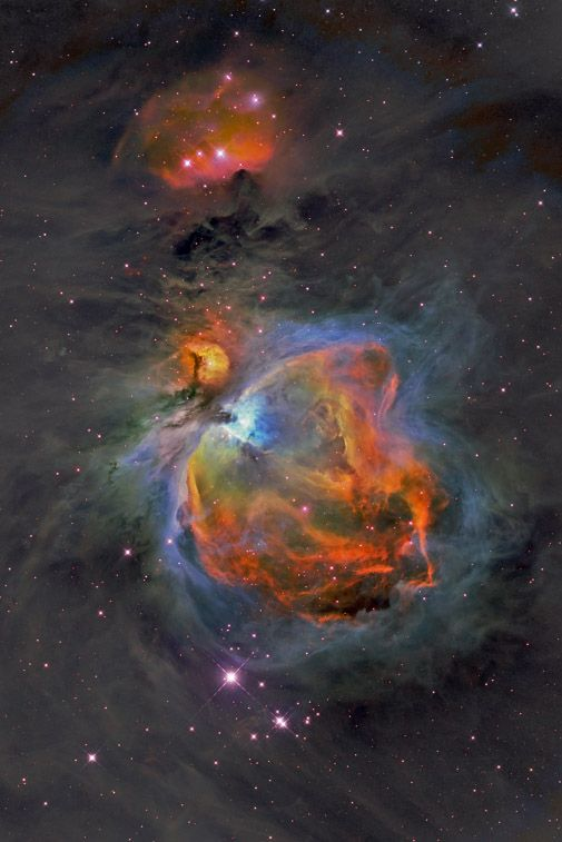 The Great Orion Nebula Miracles in Space Hubble space