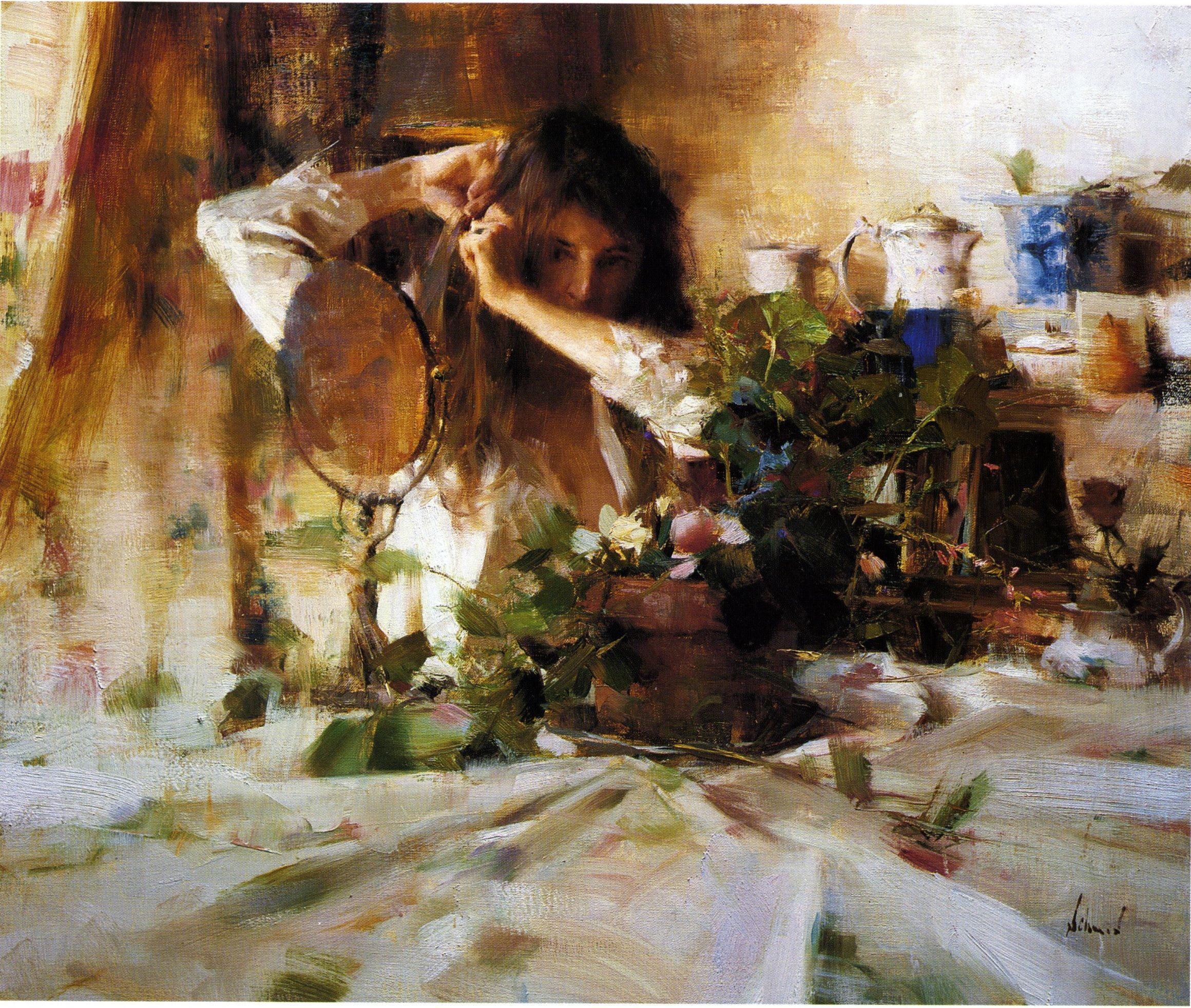 Richard Schmid, Light, Color, Composition, Presentation, Technique, Edges, Drawing