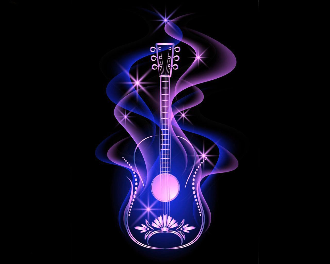 55+ Colorful Guitar Wallpapers Download at WallpaperBro