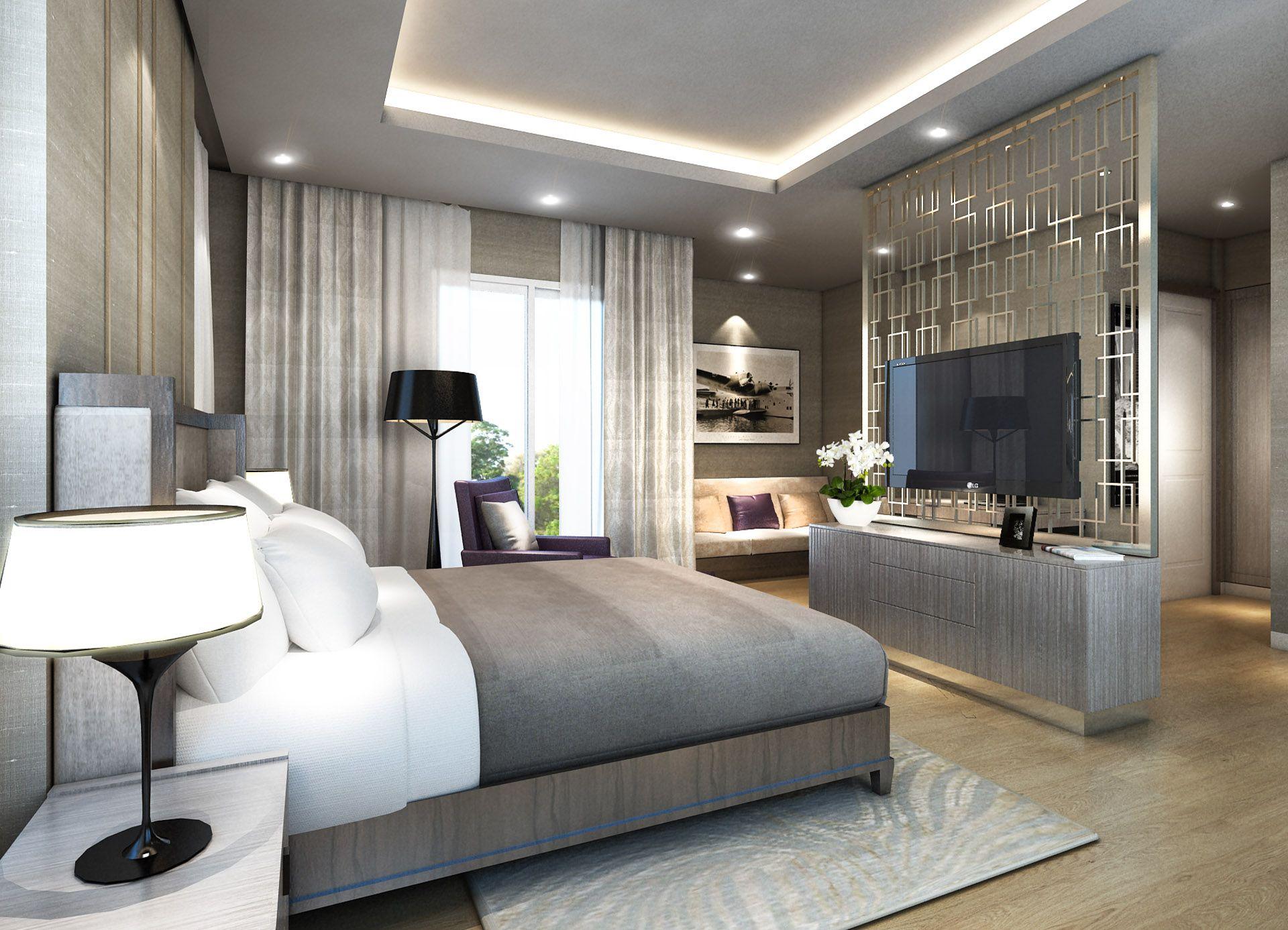 Len Für Hohe Decken minimalist mountainside contemporary bedroom ownby