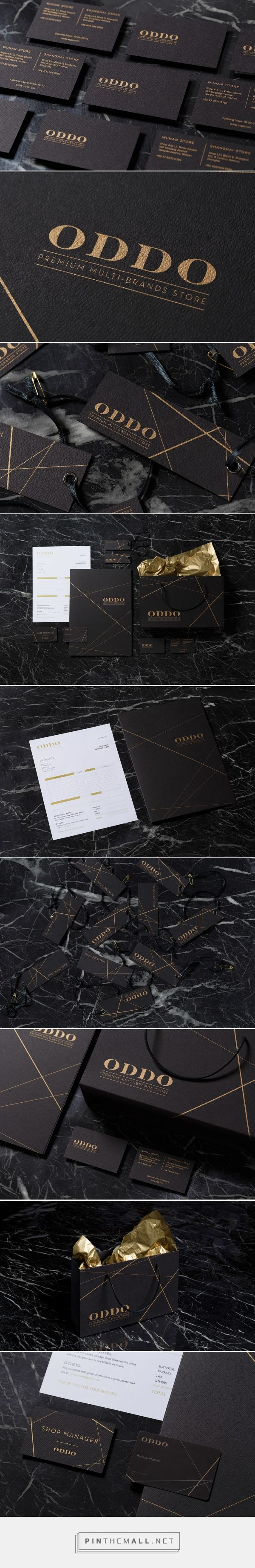 ODDO Branding on Behance | Fivestar Branding – Design and Branding Agency & Inspiration Gallery