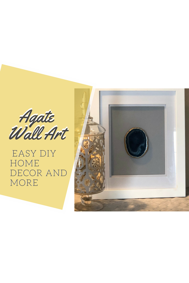Agate wall art! Do you want to add some beautiful agate pieces to ...