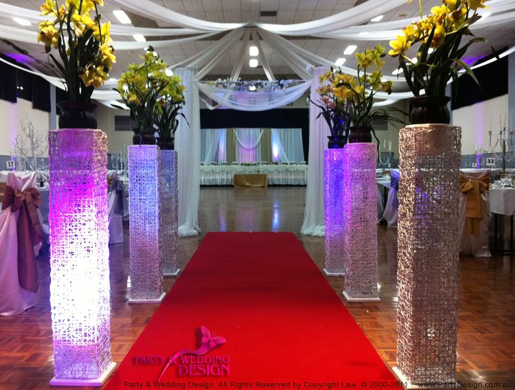 Wedding aisle stands wedding decorations party and wedding design wedding aisle stands wedding decorations party and wedding design melbourne party hire junglespirit Images