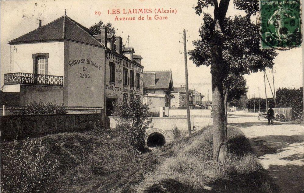Les Laumes. Avenue de la gare