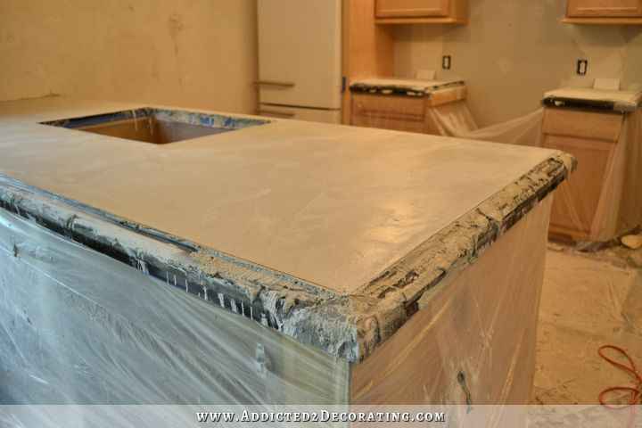 DIY Pour In Place Concrete Countertops U2013 Part 2 | Diy Concrete Countertops, Concrete  Countertops And Diy Concrete