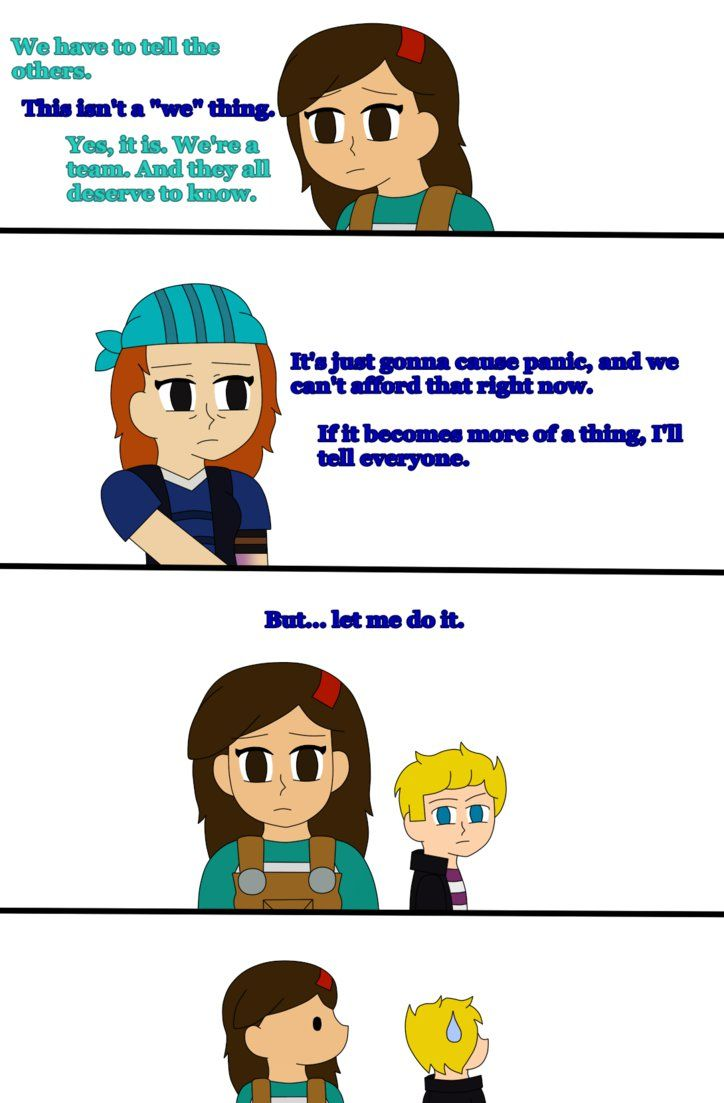 Mcsm The Last Place You Look Part 3 By Seriblaze Minecraft Comics Memes Roleplay