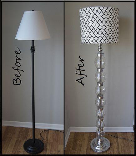 Diy best craft tutorials 2 pinterest lamp makeover diy floor lamp and tutorials