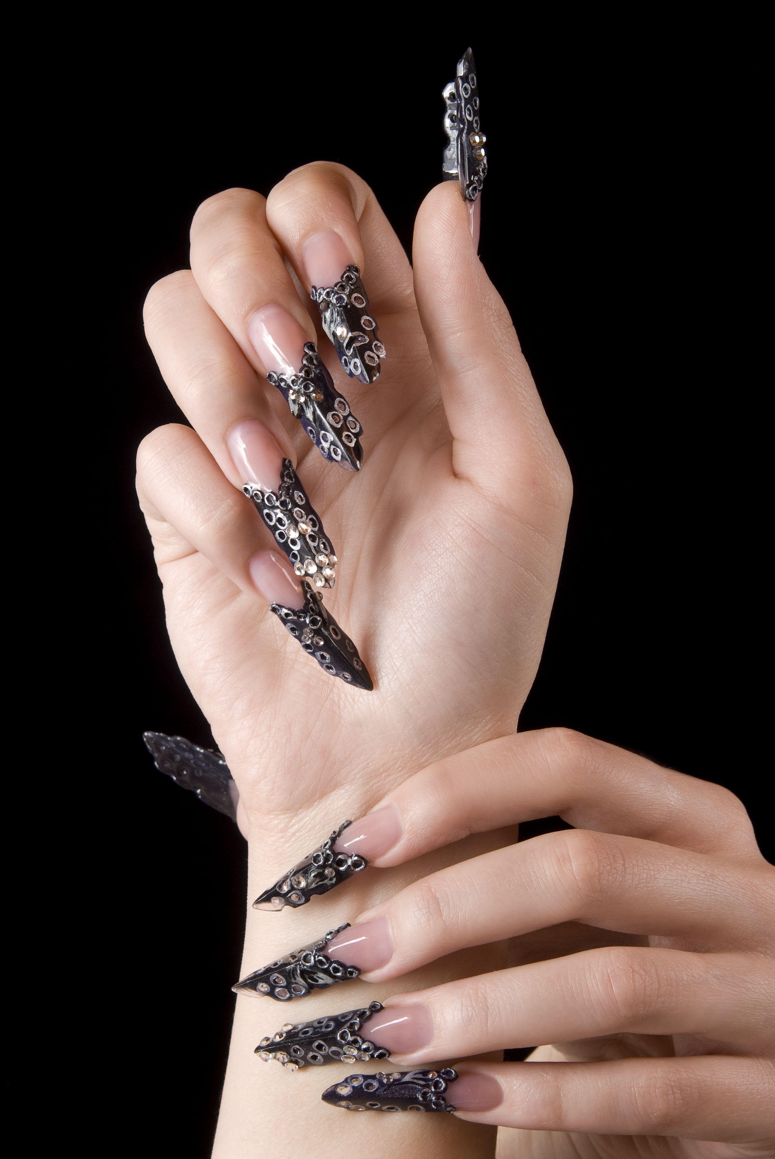 Entzückend Nägel Muster Foto Von #crystalnails #nägel #nagelstudio #nailart #muster #gelnägel #babyboomer