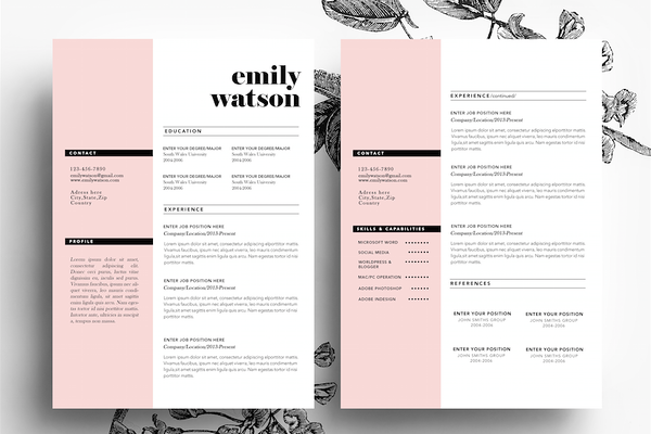how to make creative resumes for creative fields