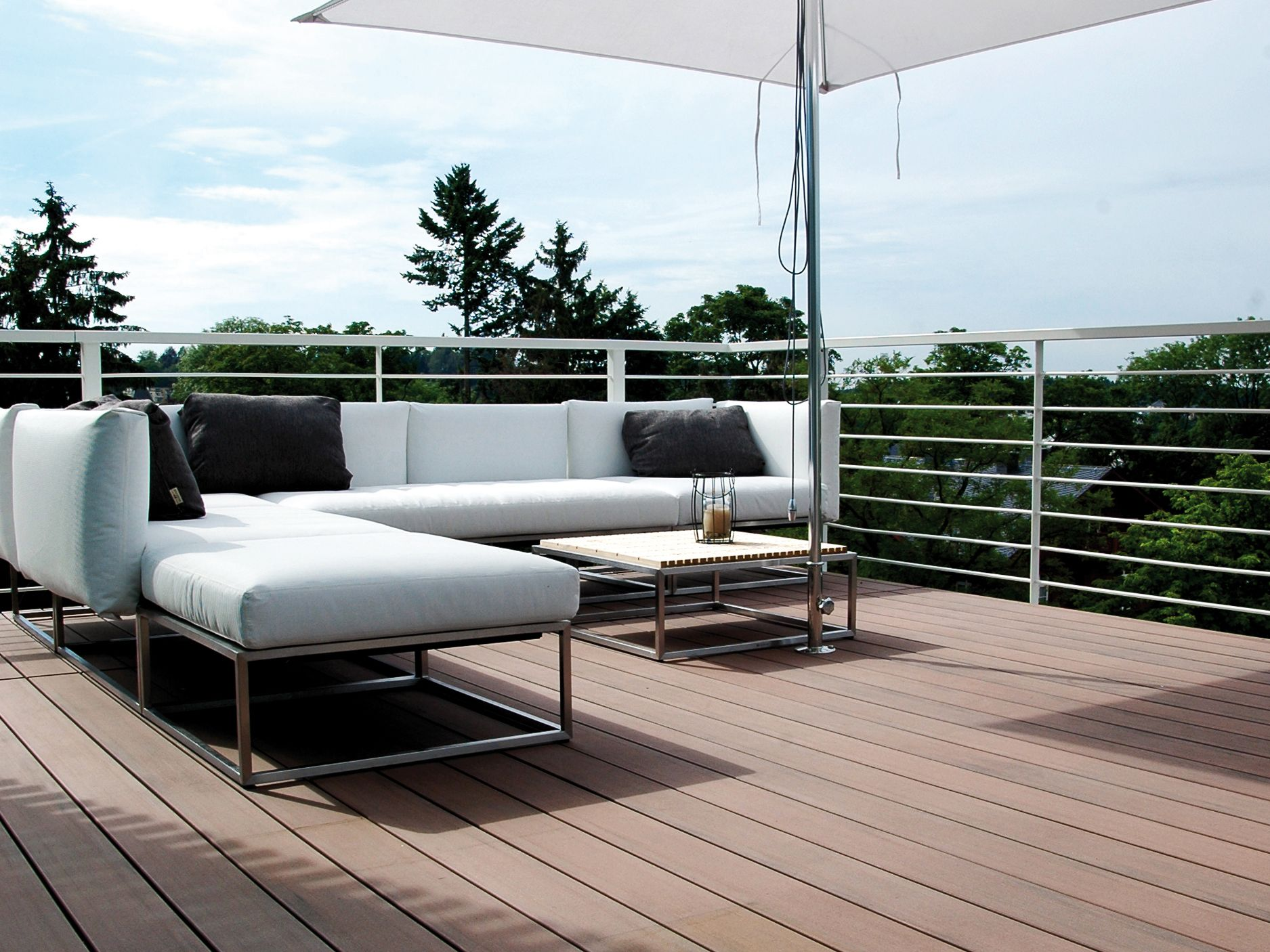 how to landscape under unlevel deck,install deck wpc