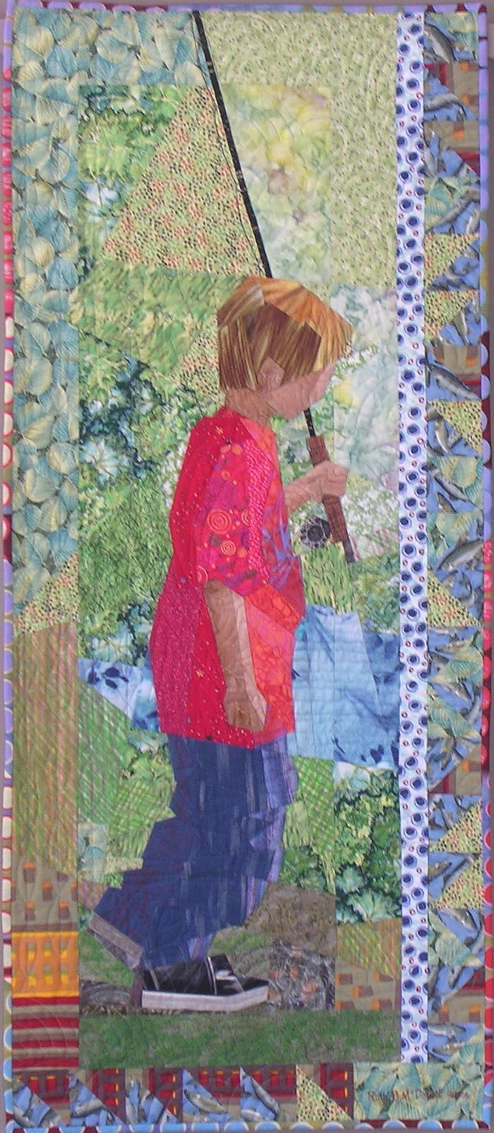 Ruth McDowell Quilts | Fisherboy..Ruth Mcdowell, love her work ... : art quilts pinterest - Adamdwight.com