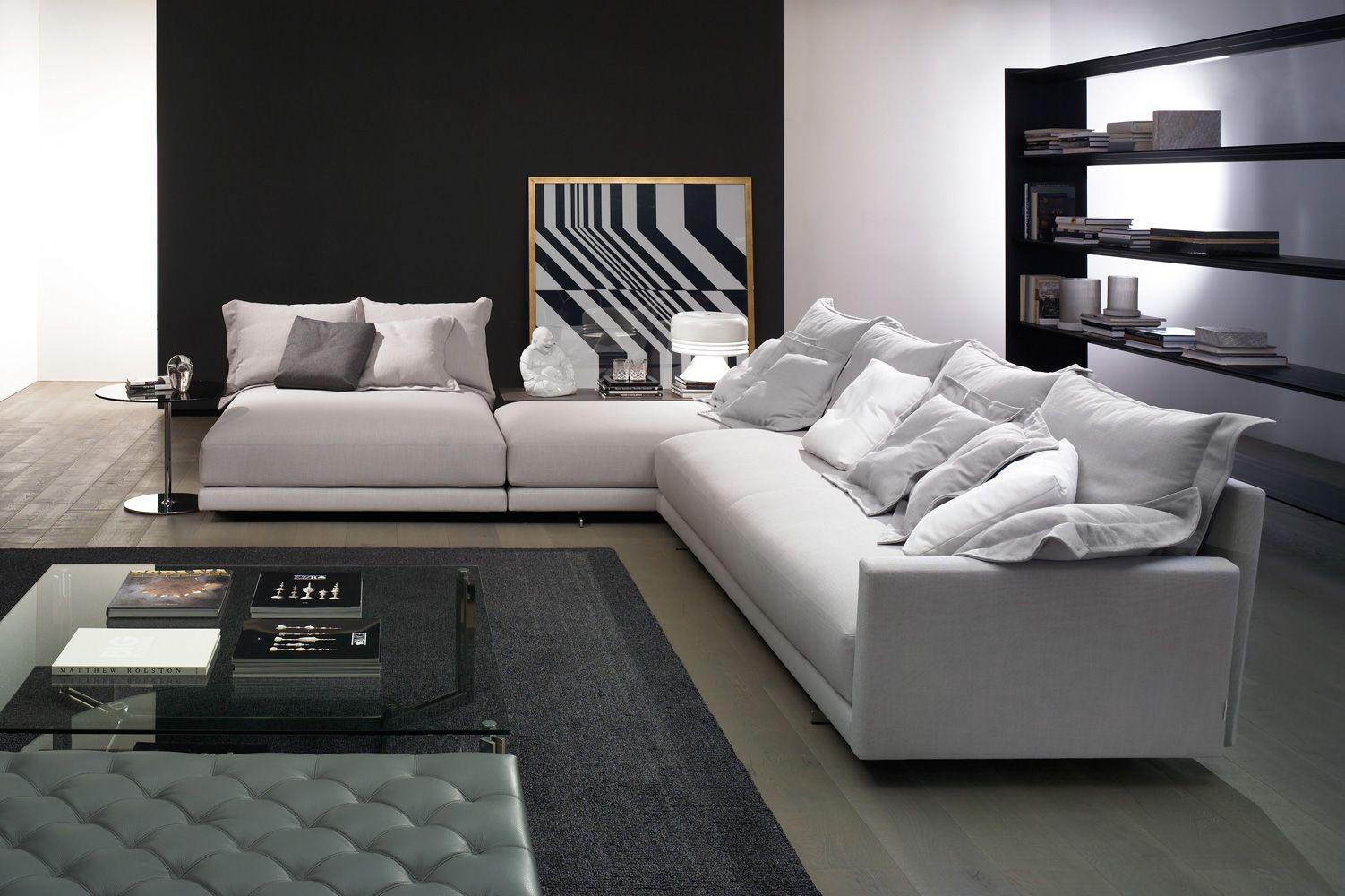 DAVIS FLAT   Frigerio Salotti   NIDO Sofas And Sectionals   Pinterest    Modular Sofa, Living Rooms And Room