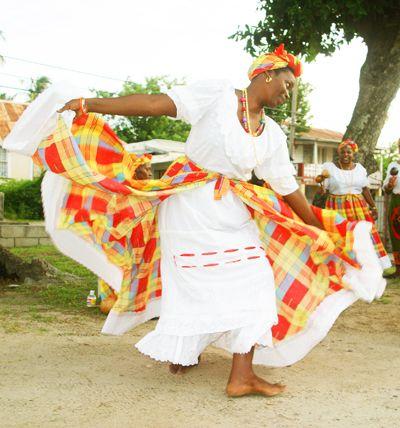 Bajan Woman